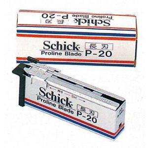 【新品】替刃『シック 長刃P-20』Schick Proline Blade