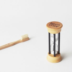 歯磨き用砂時計2分/ナチュラル