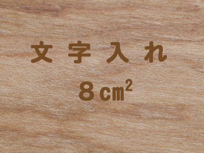文字入れ【8cm2】