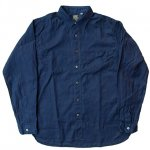 "SUGAR CANE""F.ROMANCE 3oz. COTTON /LINEN 70/30 WORK SHIRT"""