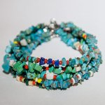 """NAVAJO """"TURQUOISE ANKLET02 22cm(レディス)"""""""