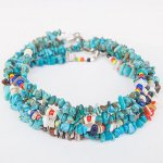 "NAVAJO ""TURQUOISE ANKLET03 25cm(メンズ)"""