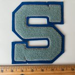 DEAD STOCK VINTAGE LETTER PATCH