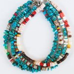 "NAVAJO ""TURQUOISE ANKLET02 25cm(メンズ)"""