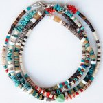 "NAVAJO ""TURQUOISE ANKLET 25cm 02(メンズ アンクレット)"""
