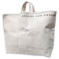 "SFV MERCANTILE×STEELE CANVAS BASKET CORP ""STUFFS AND THINGS HD CANVAS BAG"