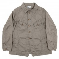 "Workers K&T H MFG Co""F Jacket, Cotton Linen Kersey, Khaki"""