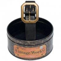 """Vintage Works """"DH5726, FLANNEL(BLACK)"""""""