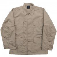 KHAKI BDU RIP STOP SHIRT, MIL-SPEC MADE FOR BLACKWATER