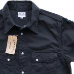 """Workers ワーカーズ""""Western Shirt""""Black"""