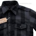 "Workers K&T H MFG Co""CPO Shirt, Gray"""
