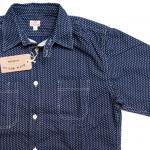 "Workers K&T H MFG Co""Polka Dot Shirt, Regular Collar"""