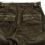 """Workers ワーカーズ""""Baker Trousers, Olive"""""""