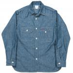 "Workers K&T H MFG Co""Uncle Sam Shirt, Blue"""