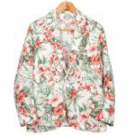"Workers K&T H MFG Co""Lounge Jacket, Floral"""
