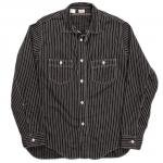 "Workers K&T H MFG Co""Classic Work Shirt, Black"""