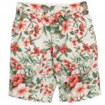 "Workers K&T H MFG Co""Buckle Back Shorts, Floral"""