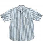 """Workers K&T H MFG Co""""EH Shirt, Seersucker"""""""