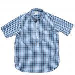 "Workers K&T H MFG Co""Pullover BD, Blue Check"""
