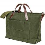"Workers K&T H MFG Co ""Zip Top Tote, Green"""