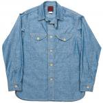 "Workers K&T H MFG Co""Cruiser Shirt, Blue"""