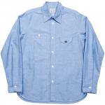 "Workers K&T H MFG Co""OX Work Shirt, Blue"""