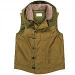 "Workers K&T H MFG Co""Padded Deck Vest, Khaki"""
