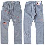 "SALTWATER COWBOY ""SIXTIES DENIM PANTS"""