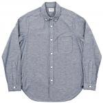 "Workers K&T H MFG Co""Round Collar BD, Dark Navy OX"""