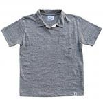 "RIDING HIGH ""LOOP WHEEL T-POLO"" mix gray"