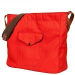 """Workers K&T H MFG Co """"Cruiser Shoulder Bag Red"""""""