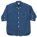 "Workers K&T H MFG Co""3/4 Sleeve Shirt, Polka Dot"""