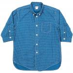 "Workers K&T H MFG Co""3/4 Sleeve Shirt, Stars&Stripes"""