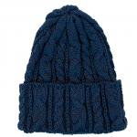 "HIGHLAND 2000 ""COTTON CABLE WATCH CAP""midnight marl(navy)"