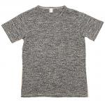 "Workers K&T H MFG Co""Mock Twist T-Shirt, Gray"""