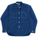 "Workers K&T H MFG Co""Engineer Shirt, Wabash Stripe"""
