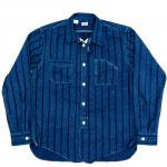 "Workers K&T H MFG Co""Engineer Shirt, Shadow Stripe"""