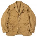 "Workers K&T H MFG Co""Lounge Jacket, Chino, Beige"""