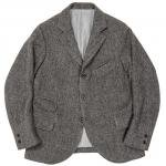 "Workers K&T H MFG Co""King Porter Jacket, Herringbone Tweed, Gray"""