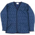 "Workers K&T H MFG Co""Liner Cardigan, navy"""