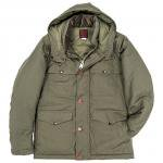 "Workers K&T H MFG Co""Cruiser Puff Jacket, Khaki"""