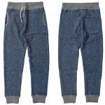 "RIDING HIGH ""L.W(LOOP WHEEL) SWEAT PANTS"" mix navy"