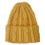 "HIGHLAND 2000 ""COTTON CABLE WATCH CAP""inca(mustard)"