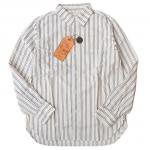 "SUGAR CANE""F.ROMANCE 4oz. DOBBY STRIPE WORK SHIRT"""