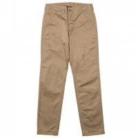 "Workers K&T H MFG Co""Workers Officer Trousers, Slim Tapered,  Chino Khaki"""