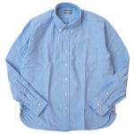 "SUGAR CANE ""SELVEDGE OXFORD B.D SHIRT""blue"