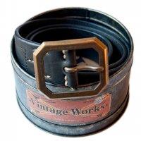 """Vintage Works """"DH5684 FLANNEL (black)"""""""""""