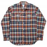 "Workers K&T H MFG Co""Acorn Work Shirt, Madras"""