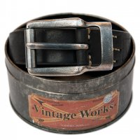 """Vintage Works """"DH5638 FLANNEL (black)"""""""