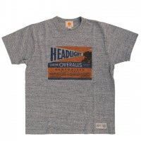 "HEADLIGHT ""COMMERCIAL TEE, H.GRAY"